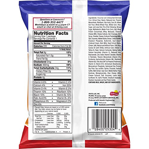 Quaker Baked Cheddar Snack Mix, 1.75 oz Bags (Pack of 40) (Packaging May Vary) by Quaker (Image #1)
