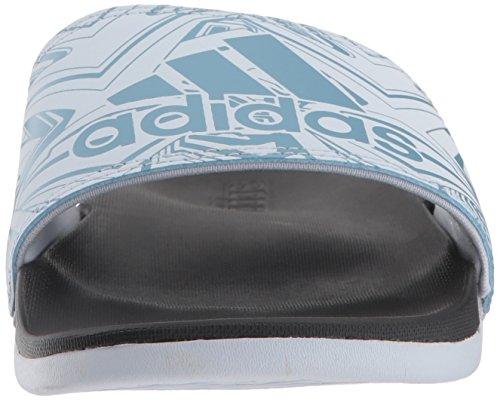 Femme Claquettes Blue Ash Confortables Comfort black Blue Adidas aero Adilette EBwqpPwxI