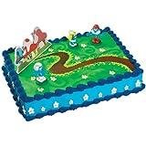 Bakery Crafts - Smurfs Cake Topper - Standard