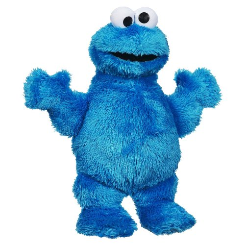 Sesame Street Playskool Let's Cuddle Cookie Monster Plush (Sesame Street Stuffed Animals)