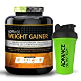 Weight Gainer 6.6Lbs 3Kg Chocolate With Odourfree Spillproof Whey Protein Shaker 600Ml N …