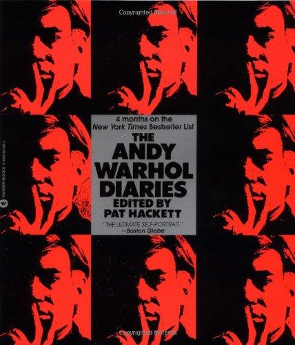 The Andy Warhol Diaries: Andy Warhol, Pat Hackett: 9780446391382 ...