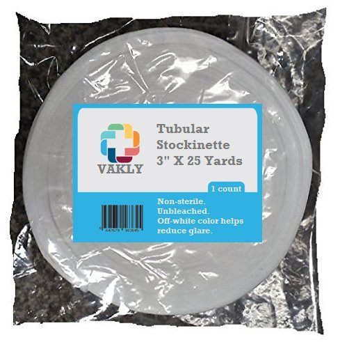 Vakly Tubular Stockinette 3'' X 25 Yards