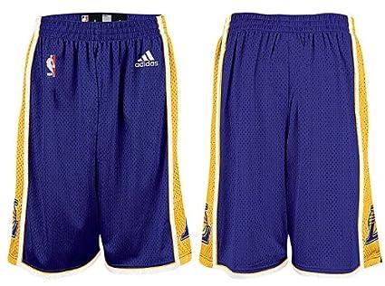 a2489ea394cb Amazon.com   Adidas Los Angeles Lakers Youth Purple Replica ...