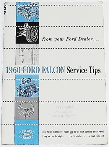 1960 Ford Falcon Service Tips: Ford: Amazon com: Books