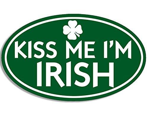 Irish Girl Sticker Bumper - 8
