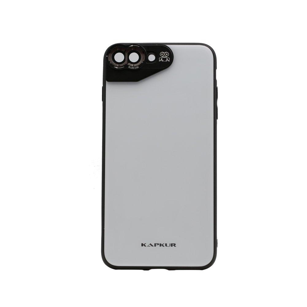 Kapkur - Carcasa para iPhone 7P/8P (compatible con los objetivos ...