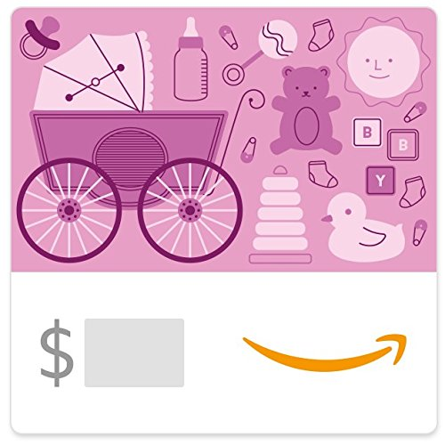 Amazon eGift Card - Baby Icons Pink