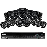 Lorex 4K 16 Channel 4MP 16 Camera Security System NR9163 3TB HDD 8 4MP LNB4421B Bullet Cameras 8 4MP LNE4422B Dome Cameras with Color Night Vision