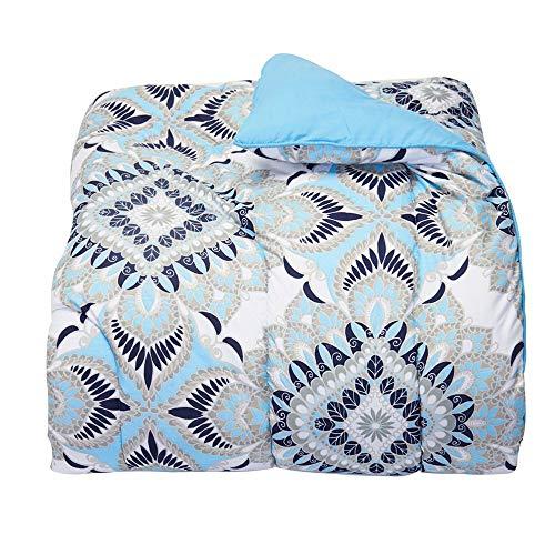 Campus Linens Kaleidoscope Aqua Twin XL Comforter for College Dorm Bedding