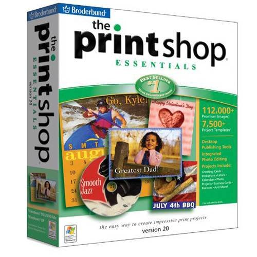 The Print Shop 20 Essentials by Encore