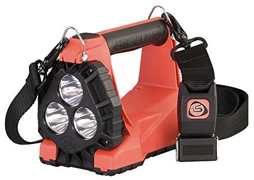 Streamlight 44311 Vulcan 180 LED Rechargeable Lantern AC/DC Charger 1200 Lumen, Orange - 1200 - Fire Lantern Vulcan Streamlight