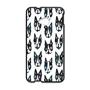 Generic Case Boston Terrier For HTC One M7 W3Q2217659