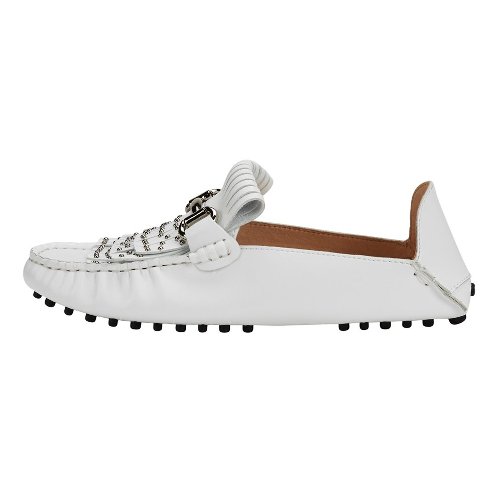 jenn ardor Women's Convertible Loafer Slides Slip-on Mules Slippers Leather Flat Shoes Driving Moccasins by jenn ardor (Image #5)