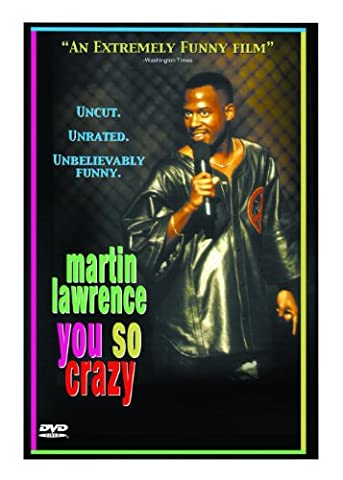 Martin Lawrence: You So Crazy (Martin Lawrence Comedy Dvd)