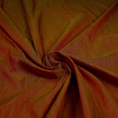 Silk Dupione Alabama Crimson (Alabama Silk)