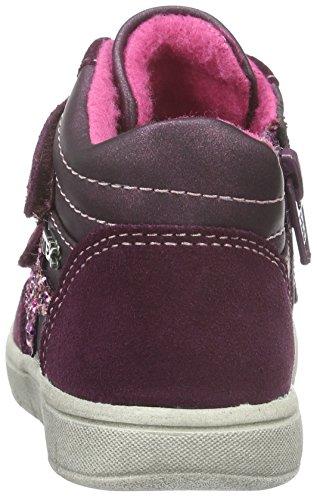 Indigo  Sneaker, Sneakers Basses fille, Rouge (810 PURPLE VL), 26 EU