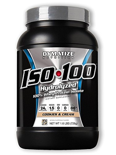 ISO 100 - Cookies & Cream - 1.6lb (Dymatize 100 Cookies Iso)
