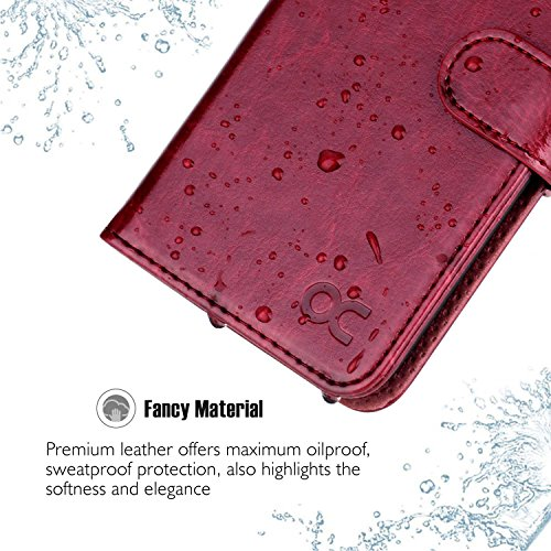 OCASE iPhone 6S Case [Free Screen Protector Included] Leather Wallet Flip Case for iPhone 6/6S Devic - http://coolthings.us
