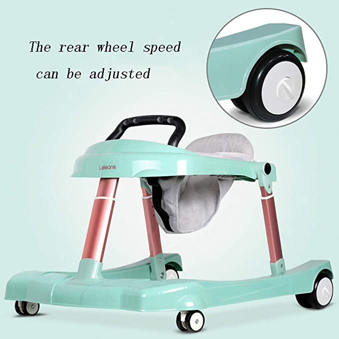 Andadores Andador para bebés, en forma de U, lata, plegable ...