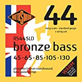 Rotosound RS445LD Phosphor Bronze 5 String Bass Guitar Strings (45-130)