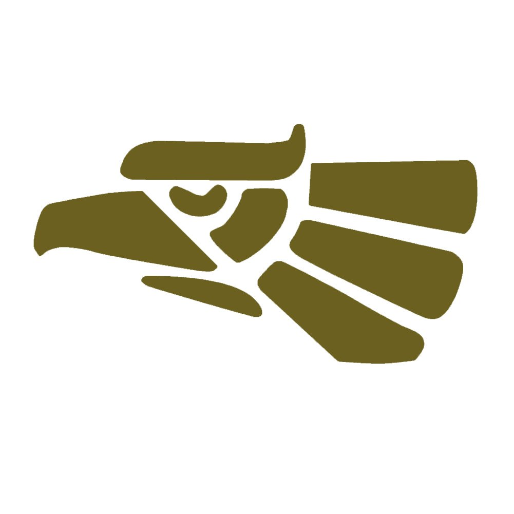 Mexican Eagle v1ビニールデカールby stickerdad – サイズ: 5インチ、色:銅 – Windows、壁、バンパー、ノートパソコン、ロッカー、など。   B076X55YRB