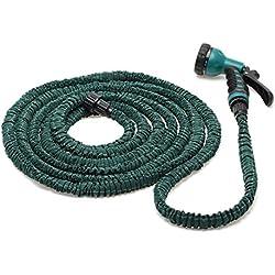 75 Feet Deluxe Expandable Flexible Garden Water Hose w/ Spray Nozzle Gun