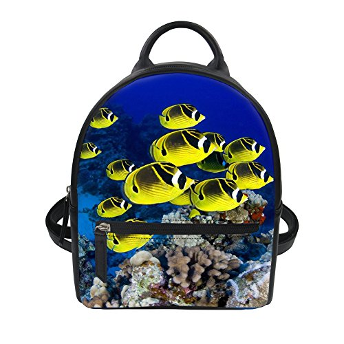 5 Coloranimal Tropical Tropical K Fish loisir 2 Multicolore 6562Z4 Fish Sac à dos rawBqS7r