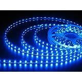 JnDee 5M (16.4ft) 300 LED Strip Light Flexible Tape Ribbon with 300 SMD LEDs - Blue