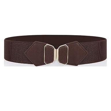JDSXXZ Frühling Gürtel elastische Gürtel Mantel Mantel breiten und Damen Damengürtel Retro Taille lässig Sommergürtel shrxQtdC