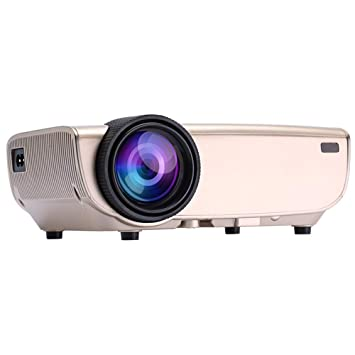 ZXYWW Proyector inalámbrico, HD 1080p Proyector portátil 3500 Lux ...