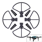 #9: Nicertain DJI Spark Propeller Guards + Landing Gear Leg Extenders, 2 in 1 Accessories Set for DJI Spark Drone