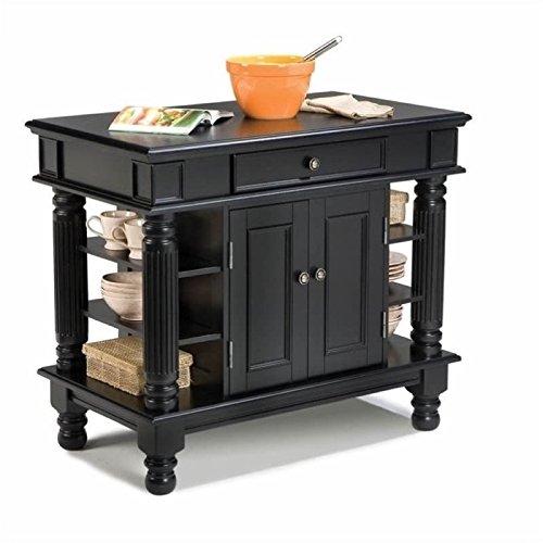 - Home Styles 5092-94 Americana Kitchen Island, Black Finish
