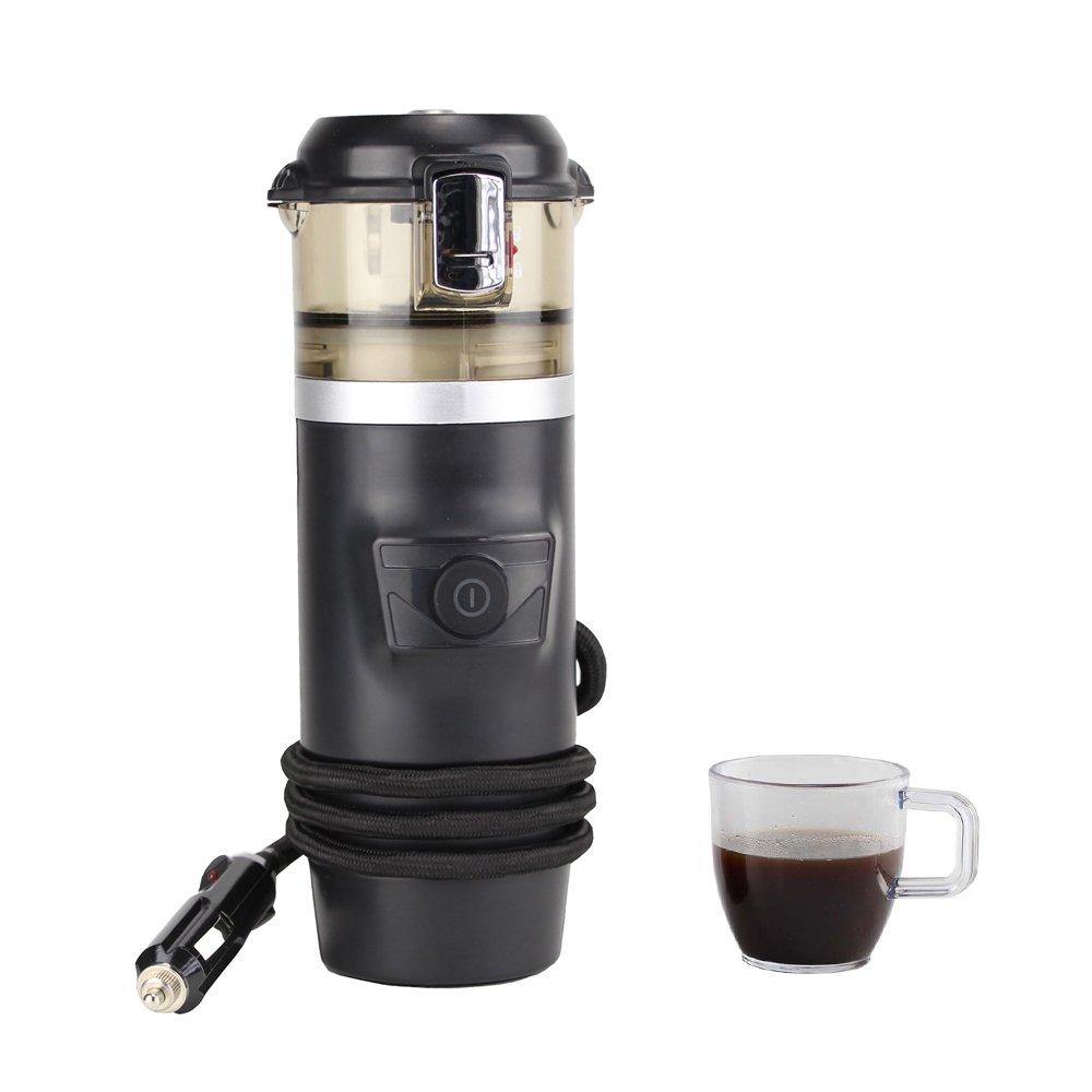 FelizCoche 12V Espresso Machine Car Espresso Coffee Machine, Make Espresso in Car 12V Car Coffee Maker with 2 cups