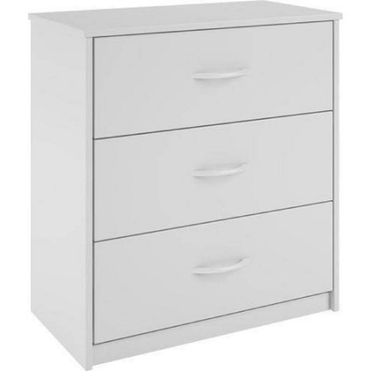 Mainstays 3-Drawer Dresser 3 easy-glide drawers (White)