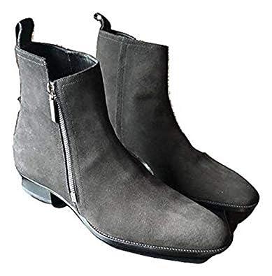 e769e3430f4 Saint Laurent Paris Authentic $1160 Wyatt Zipper Chelsea Boot Size 10 Black