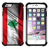 FJCases Lebanon Lebanese Waving Flag Sho