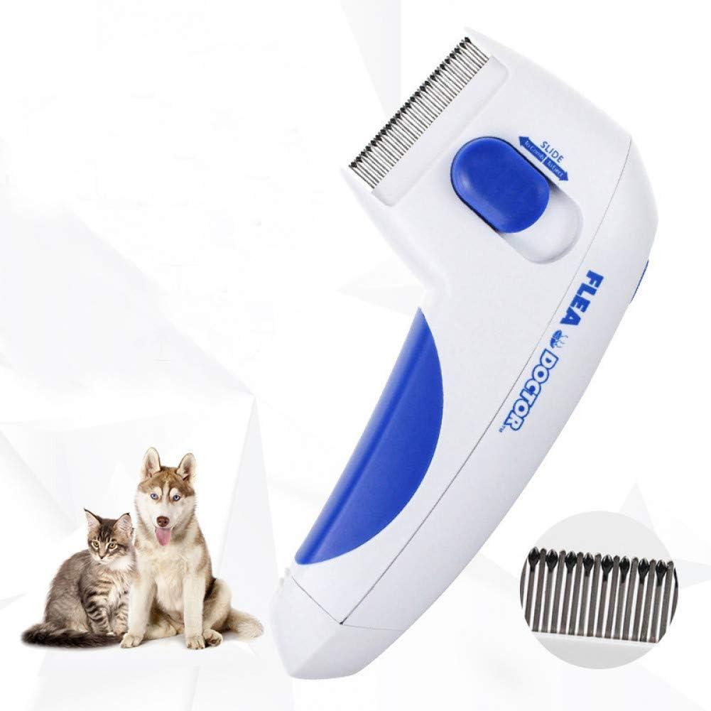 SLXSLX Peine eléctrico para pulgas para Mascotas Gato Peine para ...