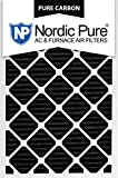 Nordic Pure 24x30x1PCP-6 Pure Carbon Pleated Air Filters (6 Pack), 24'' x 30'' x 1''
