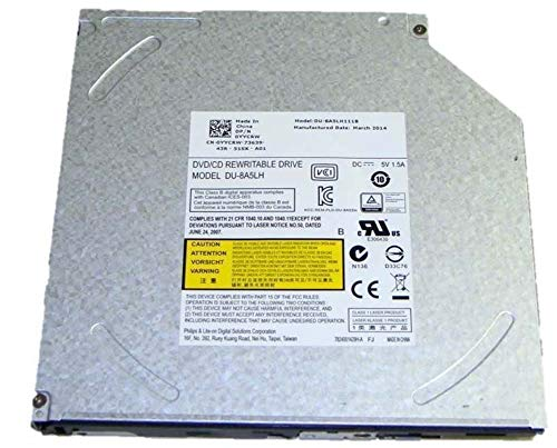 Dell CD-RW/DVD Drive YYCRW DU-8A5LH111B Inspiron 3541 by Dell