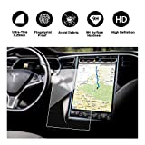 R RUIYA Tesla Model X/S Series Car Navigation TV Screen DisplayTempered Glass Protector High Sensitivity Touch