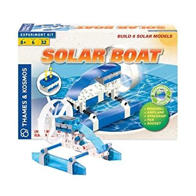 Thames and Kosmos Solar Boat Set Science Kit: Toys & Games