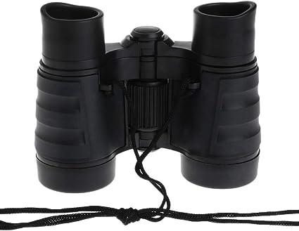 Kid Binocular Children Binocular 4X30 Black Plastic Binocular Toy Magnifier