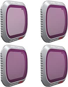 PGY TECH P-HAH-032 Filter for Mavic 2 PRO - ND/PL Set (Professional) (ND8/PL ND16/PL ND32/PL ND64/PL), Black