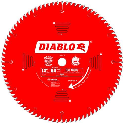 Diablo D1484X Freud Fine Finish Saw Blade 14