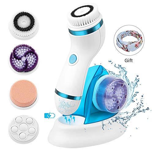 electric facial cleansing brush - 4