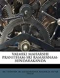 Valmiki Maharshi Pranitham-Sri Ramayanam-Sundarakanda