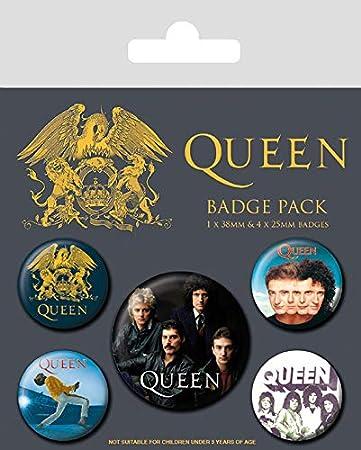 Queen Pack CHAPAS Classic, Multicolor, 10 x 12.5cm: Amazon.es: Hogar