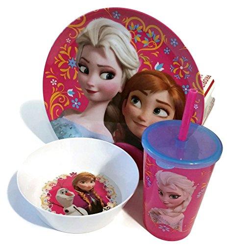 Disney Frozen Mealtime Bowl Plate