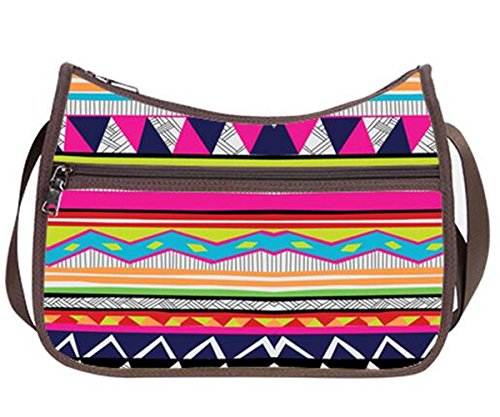 Women Bohe09 Shoulder Everyday Hobo Crossbody to Handbag Simple Hobo Bag Pattern Classic Bag Bohemian Hobo Female zZYqFzXn